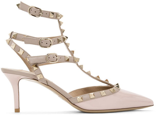 heels pink shoes