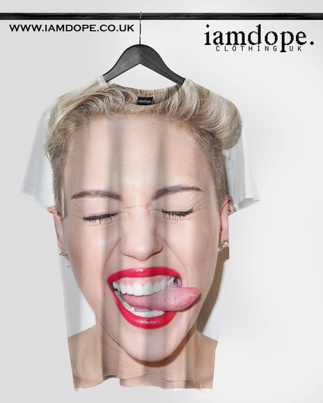 celebrity t-shirt miley cyrus miley cyrus miley cyrus sweatshirt miley cyrus shirt dope shit Dope Swag swagger swagfashions way swag jacket clothings quote on it allover allover print
