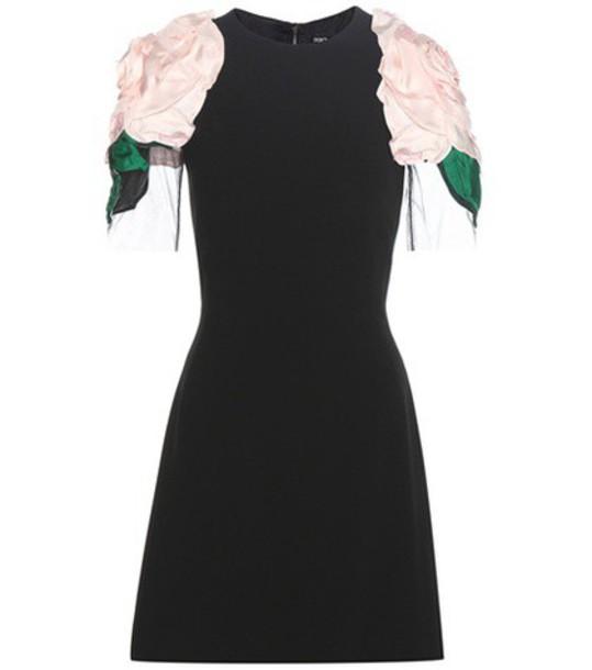 Dolce & Gabbana dress embellished black