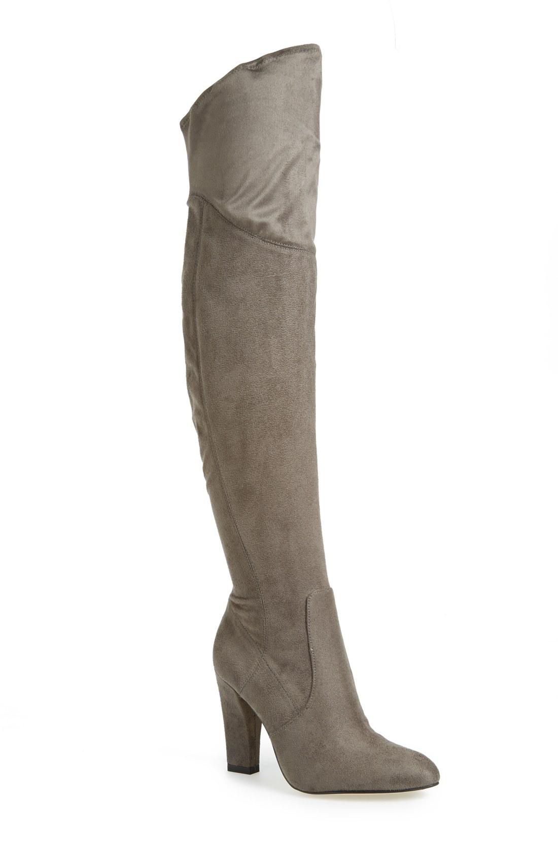 ivanka saffri the knee suede boot