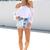 SABO SKIRT  Lace Denim Sophia Shorts - (No Colour Specified) - 58.0000