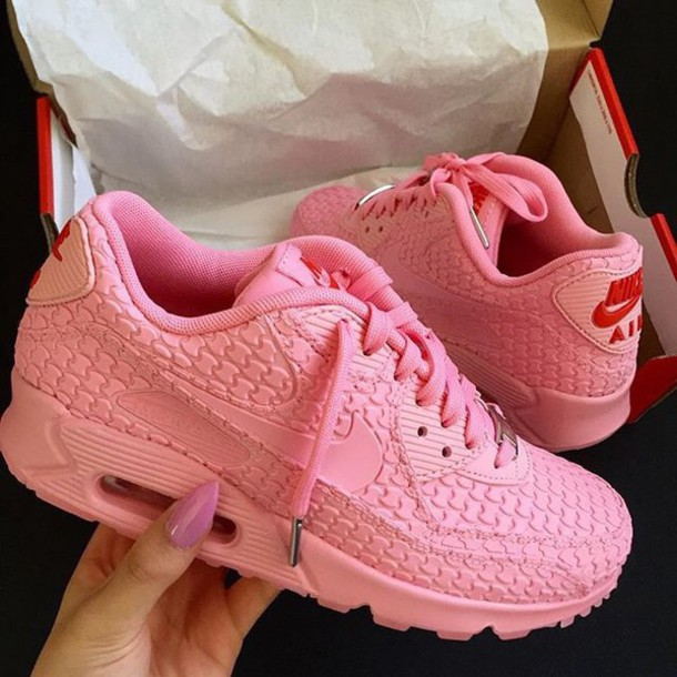 6a62b8f60681 shoes pink nike sneakers nike shoes pink sneakers pink air maxes