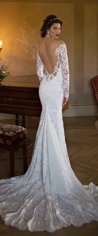 dress white dress prom dress gown prom dresses lace dress