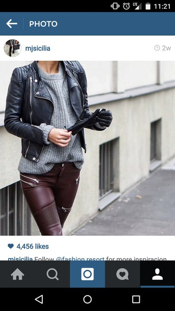 jeans leather pants burgundy leggings