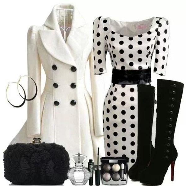 shoes dress black and white