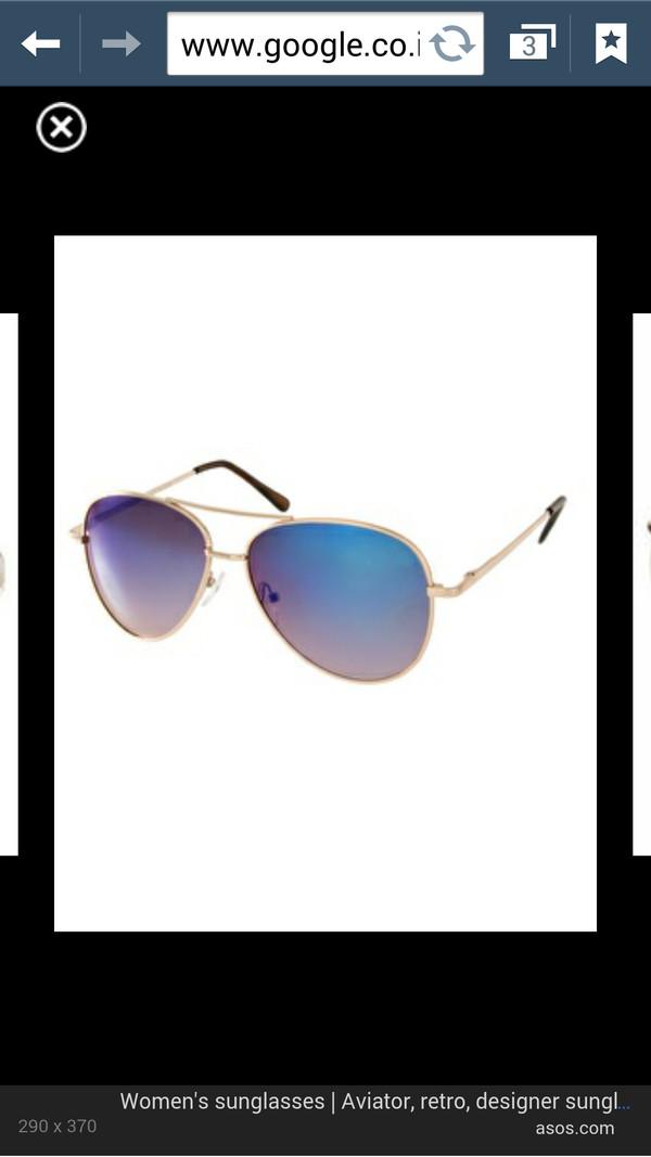 sunglasses purple blue aviator sunglasses