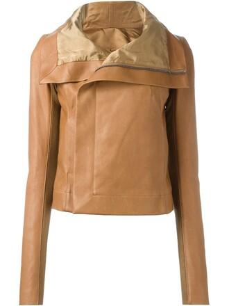 jacket biker jacket draped nude