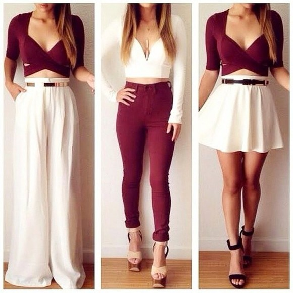 top summer outfits corset bustier Belt bralette mini skirt classy sun maxi pants skinny pants high heels jewels maxi skirt winter outfits party night crop tops black&bordeaux pumps sandals