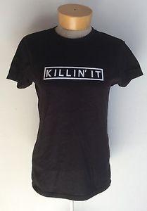 Killin' IT Ladies Black fitted T SHIRT