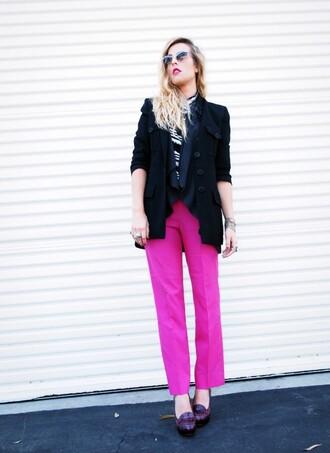 pink pants b jones
