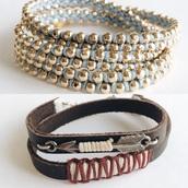 jewels,boho jewelry,arrow wrap bracelets,leather wrap bracelet,chain bracelet,golden chains,gold chain,light blue