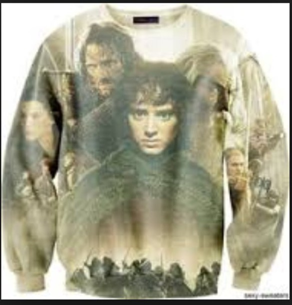 jacket the lord of the rings 3d sweatshirts cool