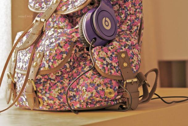bag floral liberty leather bag beauty