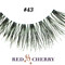 Red cherry lashes style #102