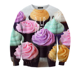 Mr. Gugu & Miss Go — R.I.P. diet sweater
