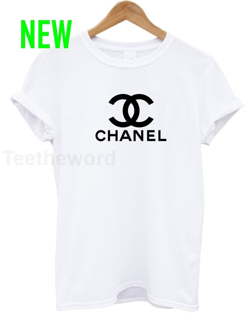 Chanel inspired logo cocaine and caviar t shirt by teetheword
