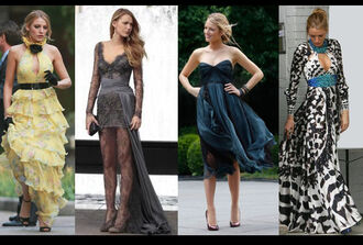 dress serena van der woodsen serena gossip girl