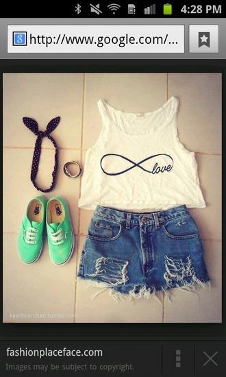 tank top infinity shirt