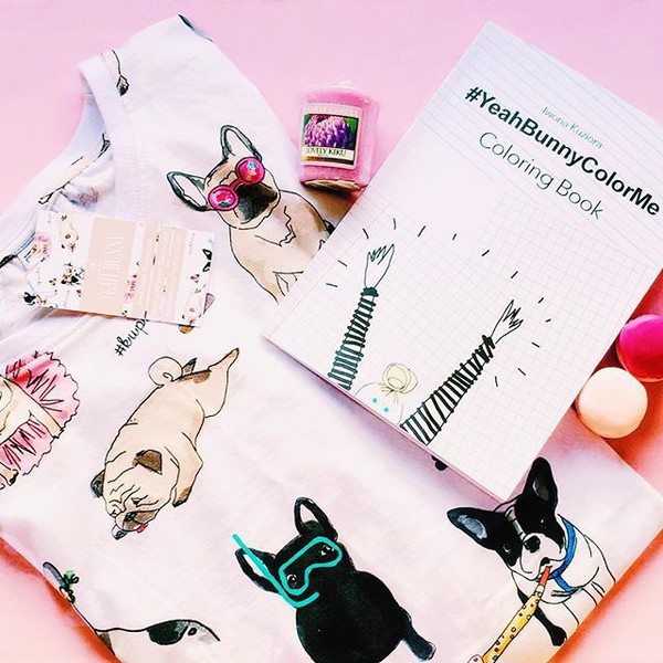 Home Accessory Yeah Bunny Colorme Creative Cute Gift Frenchie Dog Print Lover Yeahbunnycolorme Coloringbook