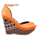 shoes,high heels,tribal pattern