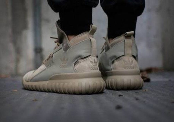 newest collection af40b 1d58b ... best price adidas tubular x knit sesame primeknit gr.39 47 kith doom  s81673 consortium ...