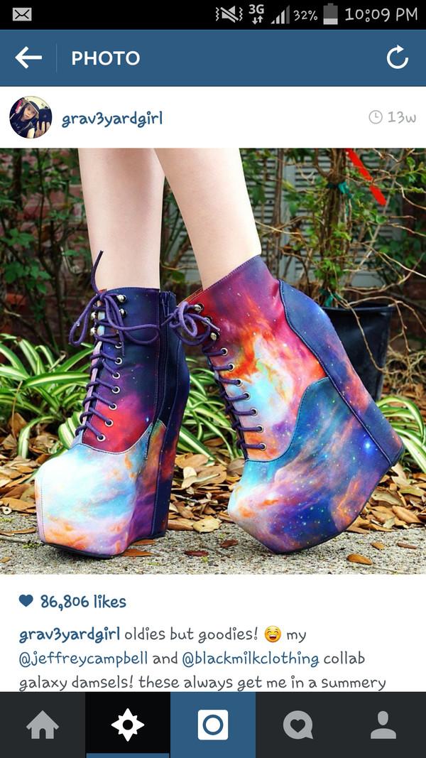 shoes jeffrey campbell blackmilkclothing grav3yardgirl