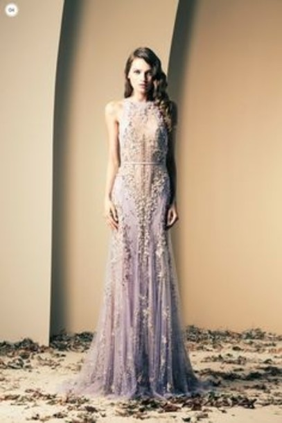 dress lilac lavender wedding
