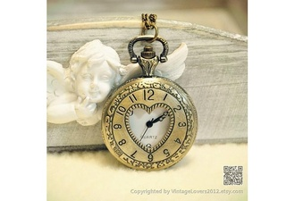 jewels watch vintage watch watches for women pocket watch heaven for the climate hell for the company compass jewelry locket chain necklace pendant holiday gift birthday gift engagement gift gifts for her valentine gift for her gift for wife vintage fashion girl best gifts gift for your valentine