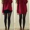 Turtleneck sweater with twist pattern|disheefashion