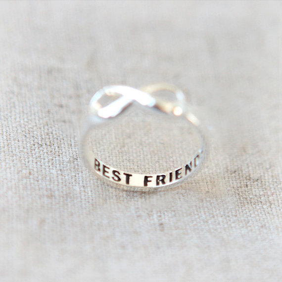 Infinity Ring Best Friend Super Gift Friendship Ring