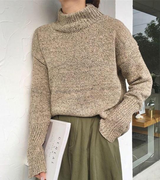 sweater girly tumblr sweatshirt knitwear knit knitted sweater jumper