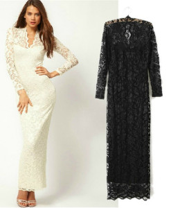 Free Shipping LONG629 S M,L Summer Dresses 2014 Women NEW Chiffon Casual Dress Slim Women HOT Brand Dress Vintage Lace Sexy | Amazing Shoes UK