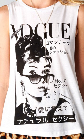shirt vogue audrey hepburn style fashion vogue crop tops, japanese japanese inspiration t-shirt swag
