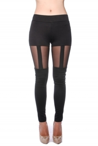 pants garter leggings