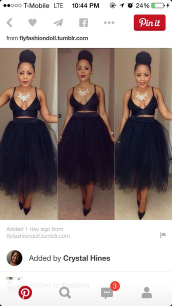 skirt black tutu dress tutu