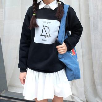 sweater cute sweatshirt hippie it girl shop girl school bag tumblr girly backpack indie hipster bag