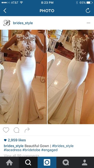dress bride white engagement ring amazing long dress prom dress style fashion trendy