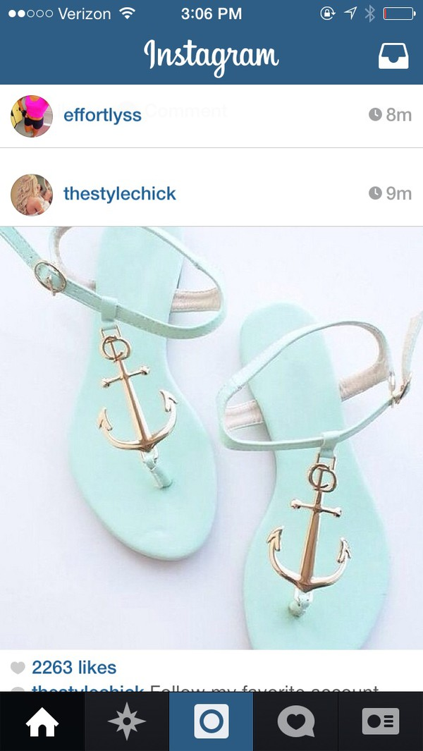 shoes mint shoe anchor