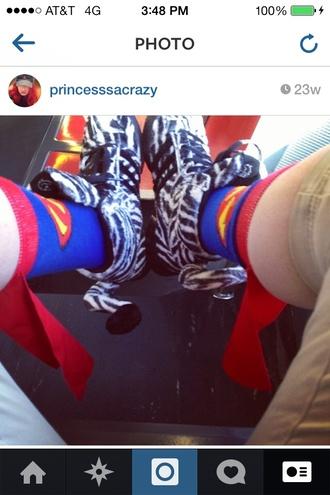 socks adidas zebra print