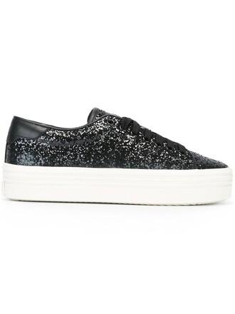 classic sneakers platform sneakers black shoes
