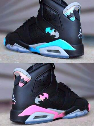 shoes batman jordans
