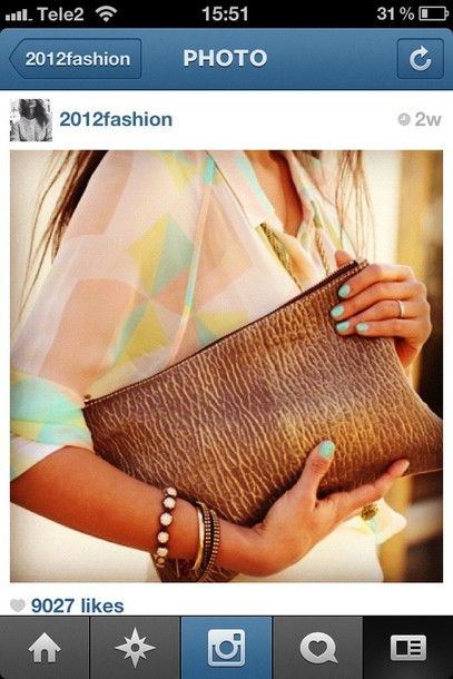 blouse multicolor multicolored blouse bag jewels
