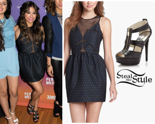 shoes, ally brooke outfit, high heels, ally brooke, fifth ... Fifth Harmony Ally Outfits
