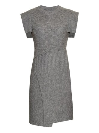 dress knit light grey