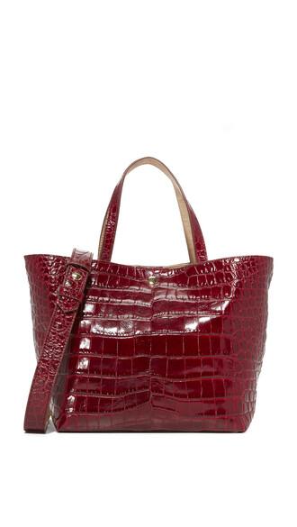 oxblood bag