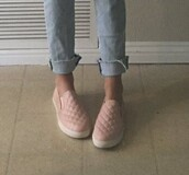 shoes,loafers,pink,summer