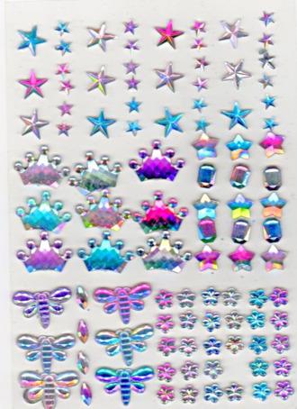 nail accessories bindi jewels stickers nail stickers