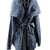 Hooded Cape Parka Coat | Outfit Made