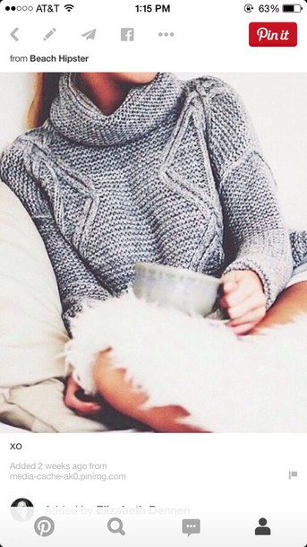 sweater oversized sweater grey sweater style