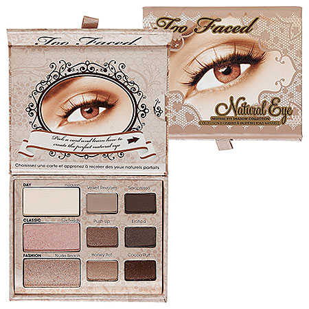 Too Faced Natural Eye Neutral Eye Shadow Collection  : Shop Eye Sets & Palettes | Sephora
